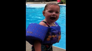 """Adorable toddler speaks first words for """"monster"""" game"""