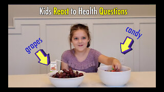 Kids React To Health Questions