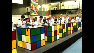 Rubik's Cube Championships - Video