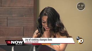 Joy of cooking changes lives in San Diego - Video