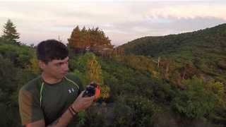 Sunset at Black Balsam Knob, North Carolina - Video