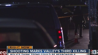 Police say teens could be responsible for valley homicide - Video
