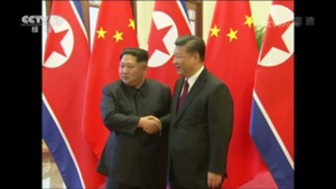 North Korean Leader Kim Jong Un Meets Chinese President Xi