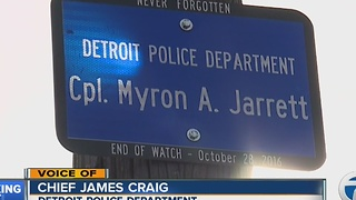 Memorial marker for Myron Jarrett unveiled - Video