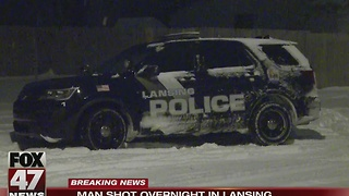 Man shot in Lansing early Tuesday morning