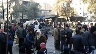 First Evacuation Convoys Arrive in Besieged Aleppo