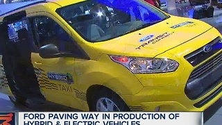 Ford hybrid and electric vehicles - Video