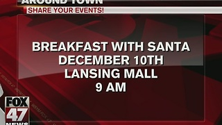 Lansing Mall to hold breakfast with Santa - Video