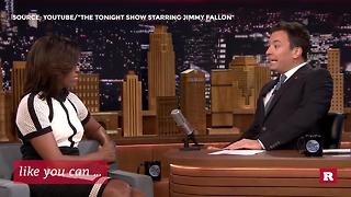 Jimmy Fallon and Michelle Obama's best TV moments together | Rare People - Video