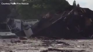 Video shows first home collapsing into Land O' Lakes sinkhole - Video