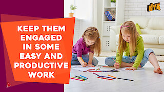 How To Handle Your Kids While Working From Home?