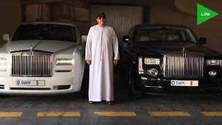 Dubai real estate developer drops $9 million on license plate - Video