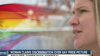 Boulder hospital employee quits over gay pride flag screen saver - Video