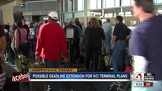 Possible deadline extension for KCI terminal proposals - Video