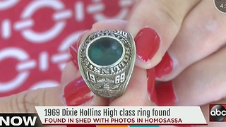 Woman trying to reunite class ring with owner - Video