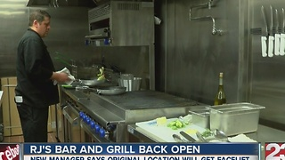 RJ's Bar and Grill back open - Video