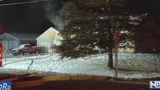Unattended Candle leads to Fire - Video