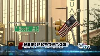 Decorating downtown to attract more business