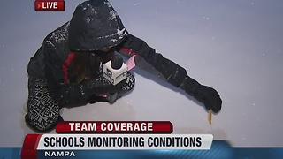 How Treasure Valley schools decide to cancel school - Video