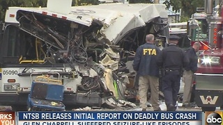 NTSB: School bus driver involved in 12 vehicle incidents before deadly crash - Video