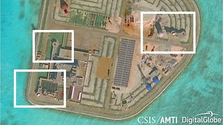 Imagery Shows China Has Installed Weapons on all 7 of Their Man-Made Islands - Video