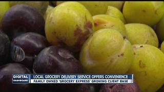 Local business offers convenience when it comes to grocery shopping - Video