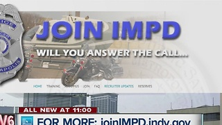 IMPD rolls out new recruitment effort - Video
