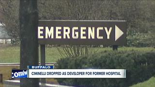 Ciminelli dropped as developer for hospital site - Video