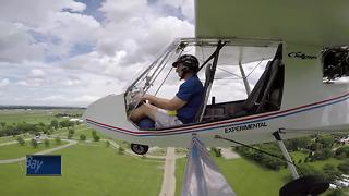 Great Outdoors: Annual Ultralight Day brings pilots together to show off skills - Video