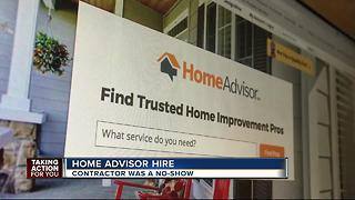 Home Advisor repairman disappears with couple's money - Video