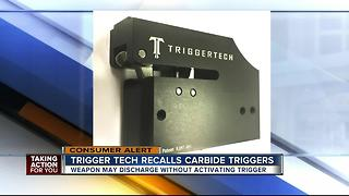 Crossbow triggers recalled due to injury hazard - Video