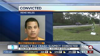 Deadly DUI Crash Suspect Convicted - Video