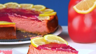 Pink Lemonade Cheesecake - Video