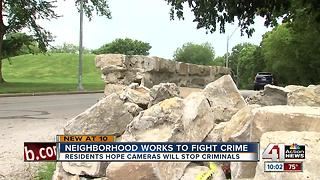 KC Northeast neighbors want security cameras at park after vandalism - Video