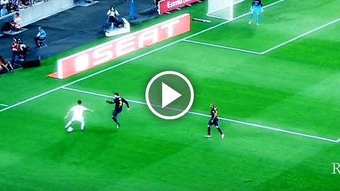 VIDEO: Cristiano Ronaldo vs Gerard Pique