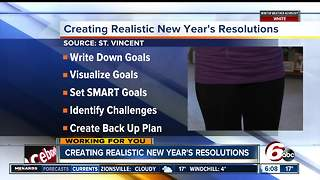 Creating realistic New Year's Resolutions - Video