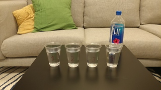 Water test: Can you tell the difference between bottled and tap water?