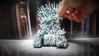 Chef makes amazing Game of Thrones dessert - Video