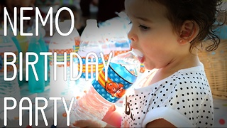Finding Nemo Toddler Birthday Party - Video
