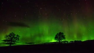 Stunning Timelapse Captures Aurora Over Northern Scotland - Video