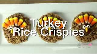 These Turkey Rice Crispies Are the Perfect Snack Between Halloween and Thanksgiving - Video