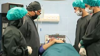 AT THE OPERATING THEATRE - Video