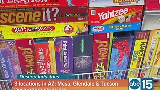 Deseret Industries helps your dollars stretch during the holidays - Video