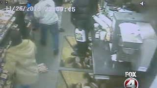 Flash mob robbery - Video