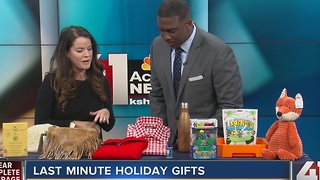 Last minute holiday gifts - Video