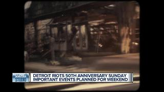 50th Anniversary of Detroit Riots Sunday July 23rd - Video
