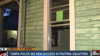 Tampa police using tool to fight illegal squatters - Video
