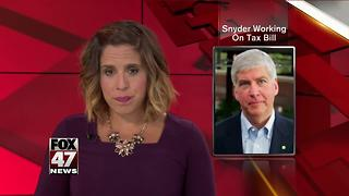Snyder, House speaker to discuss job-creation incentives - Video