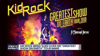 Kid Rock sued by Ringling Bros. for 'Greatest Show on Earth' tour - Video