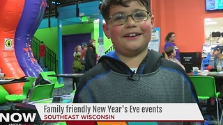 Family friendly New Year's Eve events - Video